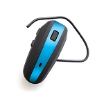 NoiseHush N500 Bluetooth Headset Black and Sky Blue