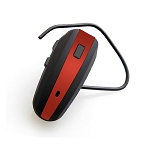 NoiseHush N500 Bluetooth Headset Black and Red