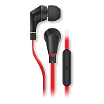 NoiseHush NX80 Handsfree Stereo 3.5mm Headset with Mic - Black