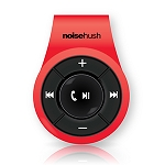 NoiseHush NS560 Clip-on Bluetooth Stereo Headset - Red