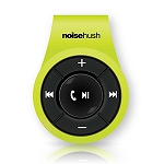 NoiseHush NS560 Clip-on Bluetooth Stereo Headset - Lime Green
